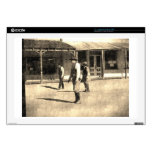 "Gunfight Ready Vintage Old West 17"" Laptop Decal"