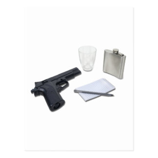 GunFlaskNotebook052711 Tarjetas Postales