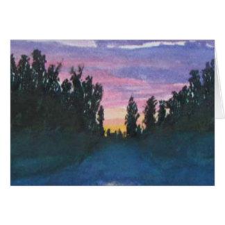 Gunflint Trail Misty Morning Card