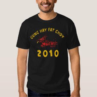 Gung Hay Fat Choy 2010 Black T-shirt