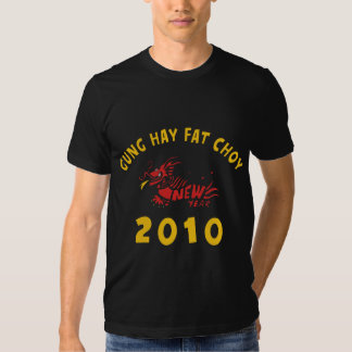 Gung Hay Fat Choy 2010 Black Tshirt