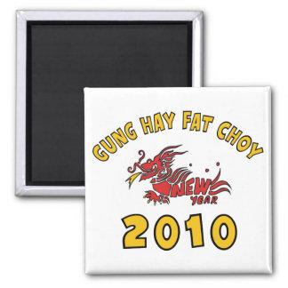 Gung Hay Fat Choy 2010 Gift Fridge Magnets