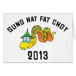 Gung Hay Fat Choy 2013 Greeting Card