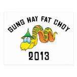 Gung Hay Fat Choy 2013 Post Cards