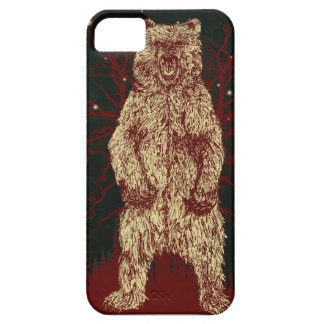 Gunge Skater Style Forest Bear iPhone SE/5/5s Case