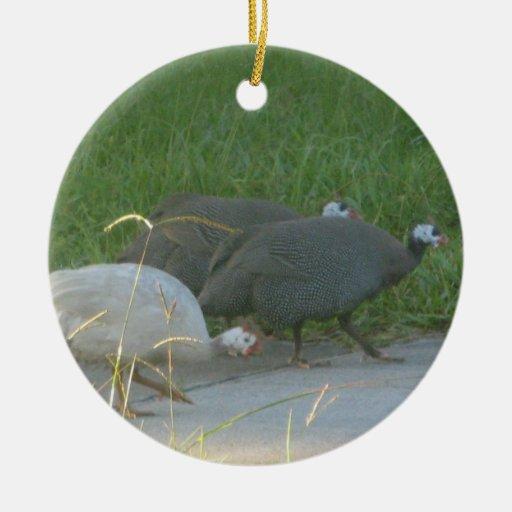 Guniea Fowl Ornament