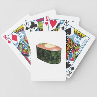 Gunkan Quail Egg Sushi Bicycle Playing Cards
