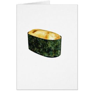 Gunkan Uni Sushi Greeting Card