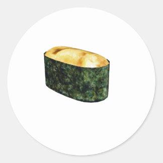 Gunkan Uni Sushi Round Sticker