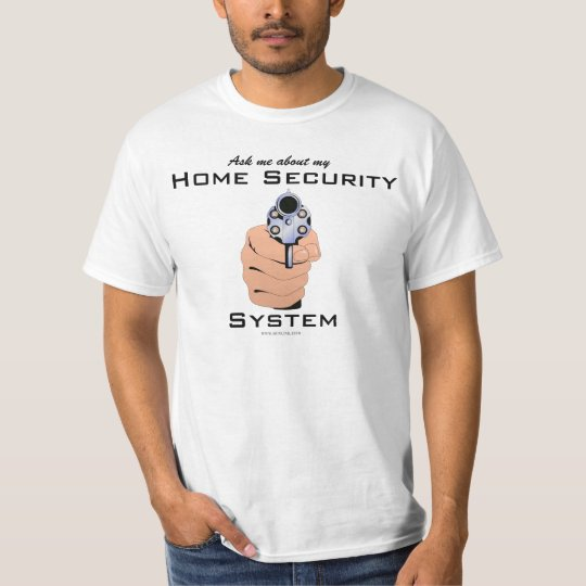 GunLink Ask Me About Home Security Light Tee