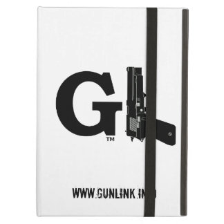 GunLink GL Logo Powis iCase for iPad, Made in USA Cover For iPad Air