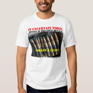 GunLink Invest in Precious Metals Shirt, Light T Shirt