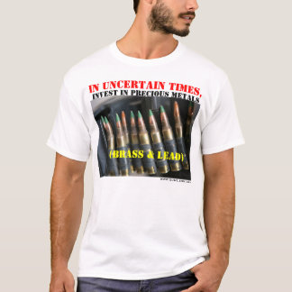 GunLink Invest in Precious Metals Shirt, Light T-Shirt