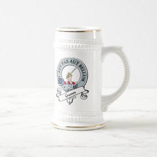 Gunn Clan Badge 18 Oz Beer Stein