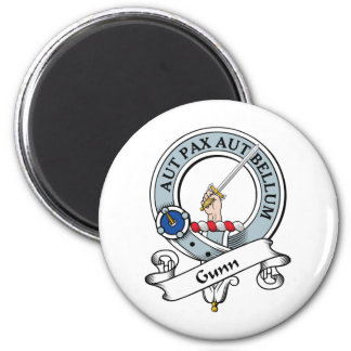 Gunn Clan Badge Magnet