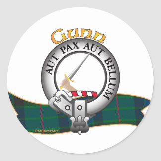 Gunn Clan Classic Round Sticker
