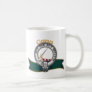 Gunn Clan Classic White Coffee Mug