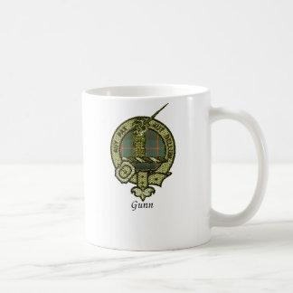 Gunn Clan Crest Classic White Coffee Mug