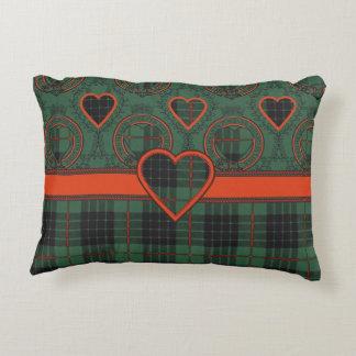 Gunn clan Plaid Scottish tartan Accent Pillow