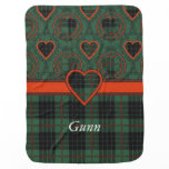 Gunn clan Plaid Scottish tartan Baby Blanket