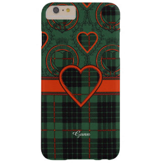Gunn clan Plaid Scottish tartan Barely There iPhone 6 Plus Case