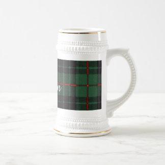 Gunn clan Plaid Scottish tartan Beer Stein