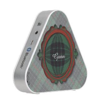 Gunn clan Plaid Scottish tartan Bluetooth Speaker