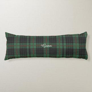 Gunn clan Plaid Scottish tartan Body Pillow