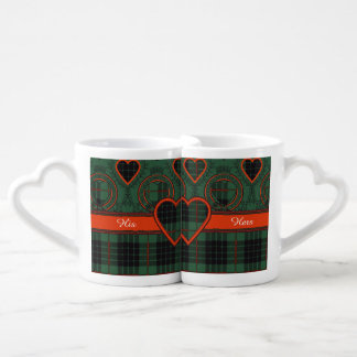 Gunn clan Plaid Scottish tartan Coffee Mug Set