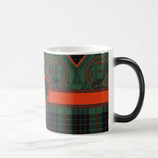 Gunn clan Plaid Scottish tartan Magic Mug