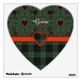 Gunn clan Plaid Scottish tartan Wall Sticker