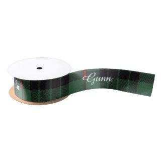Gunn clan Plaid Scottish tartan Blank Ribbon