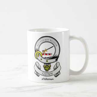 GUNN Coat of Arms Classic White Coffee Mug