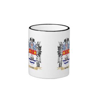 Gunn Coat of Arms - Family Crest Ringer Coffee Mug