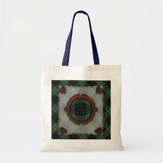 Gunn Scottish clan tartan - Plaid Tote Bags