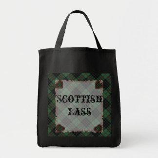 Gunn Scottish clan tartan - Plaid Canvas Bags