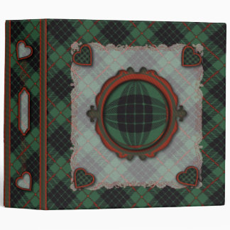 Gunn Scottish clan tartan - Plaid Vinyl Binders