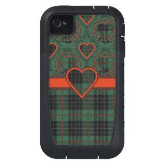 Gunn Scottish clan tartan - Plaid iPhone4 Case