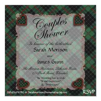Gunn Scottish clan tartan - Plaid Invite