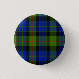 Gunn Scottish Tartan Button