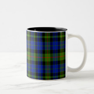 Gunn Scottish Tartan Two-Tone Coffee Mug