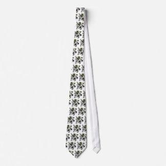 Gunn Tartan Lion Tie