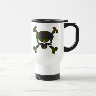 Gunn Tartan Skull No Banner Mug