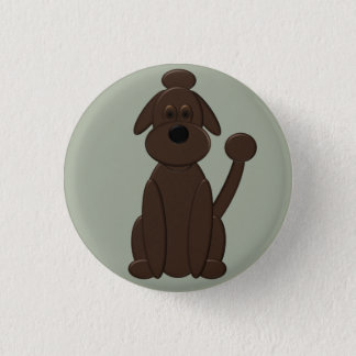 Gunnar - Who's a Good Boy Pinback Button