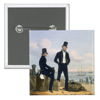 Gunners, Boatswains and Carpenters, plate 11 from 2 Inch Square Button