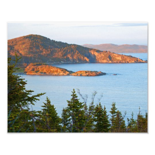 Gunners Cove At Sunset Photo Print