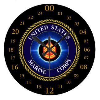 GUNNERY SERGEANT / WALL CLOCK
