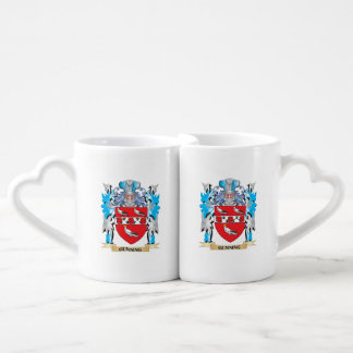 Gunning Coat of Arms - Family Crest Couples Mug