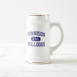 Gunnison - dogos - High School secundaria - Gunnis Tazas De Café
