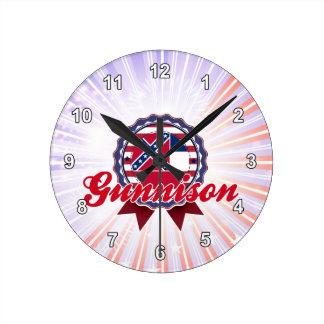 Gunnison, ms relojes de pared